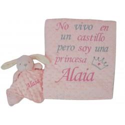 """Conjunto """"Dulce princesa"""" rosa/gris"""