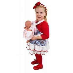 """Portabebés para muñecas """"Estrellas"""" rosa"""