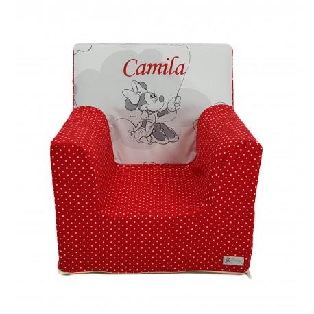 """Sillón o asiento Montessori de espuma para bebés y niños """"Disney Comet"""""""