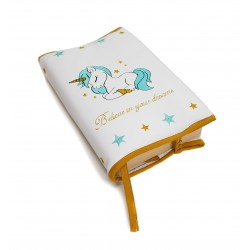 "Funda para libros ""Unicorn"" varios colores disponibles"