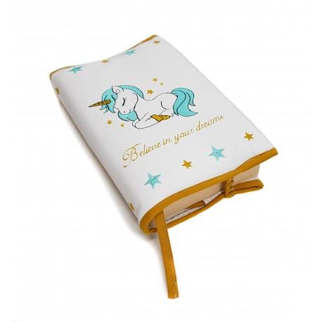 "Funda para libros ""Unicorn"""