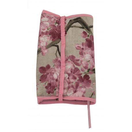 Funda para libros Cerezo rosa