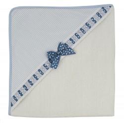 Capa de baño Sabela azul