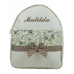 "Mochila ""Cintia"" beige"