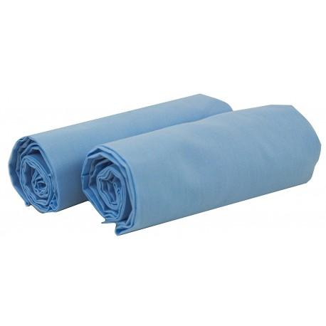 Juego de 2 sábanas bajeras para maxicuna