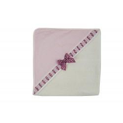 Capa de baño Sabela rosa